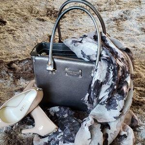 Kate Spade Pewter Handbag